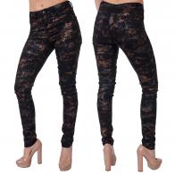 Силуэтные женские брюки в глэм-стиле от ТМ Pieces.