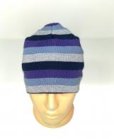 Симпатичная полосатая шапка