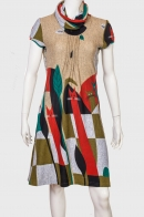 Симпатичное женское платье с котами от Le Grahier