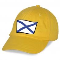 Символичная кепка с принтом ВМФ - купить с доставкой