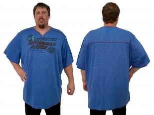 Синяя мужская футболка Harley-Davidson