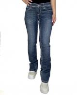 Синие женские джинсы Bruno Banani с белыми строчками