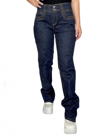 Темно-синие женские джинсы G3000 Samantha с широким поясом.