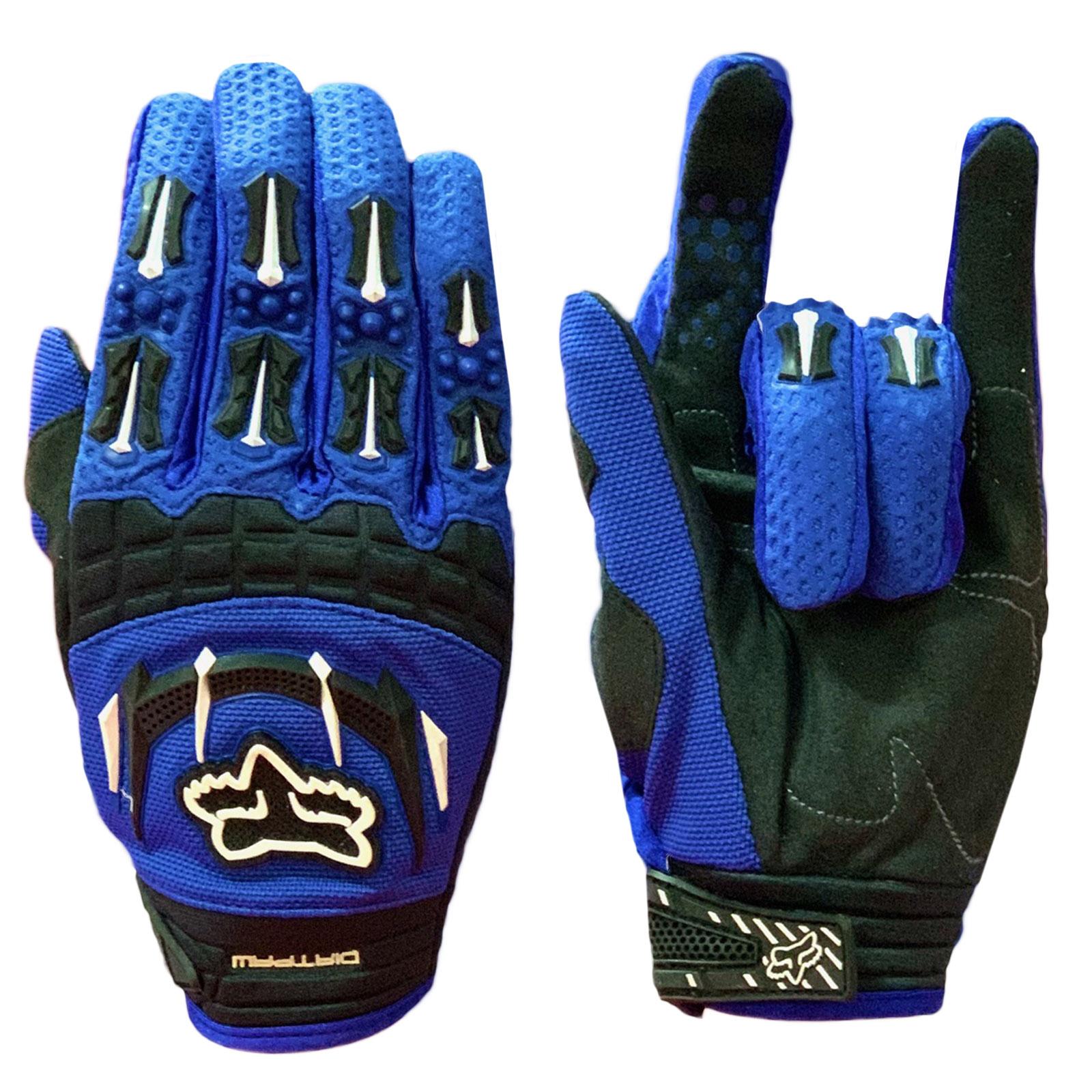 Синие коллекционные перчатки от Clarino