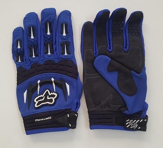 Синие перчатки от Clarino