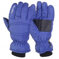 Синие горнолыжные перчатки Thermo Plus