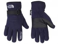 Синие перчатки The North Face