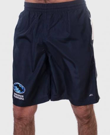 Синие мужские шорты Военная Разведка