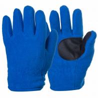 Синие теплые перчатки IGLOOS на флисе с защитой ладони.