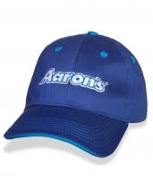 Синяя спортивная бейсболка Aaron's.
