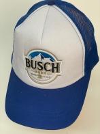 Синяя бейсболка Busch с белой тульей