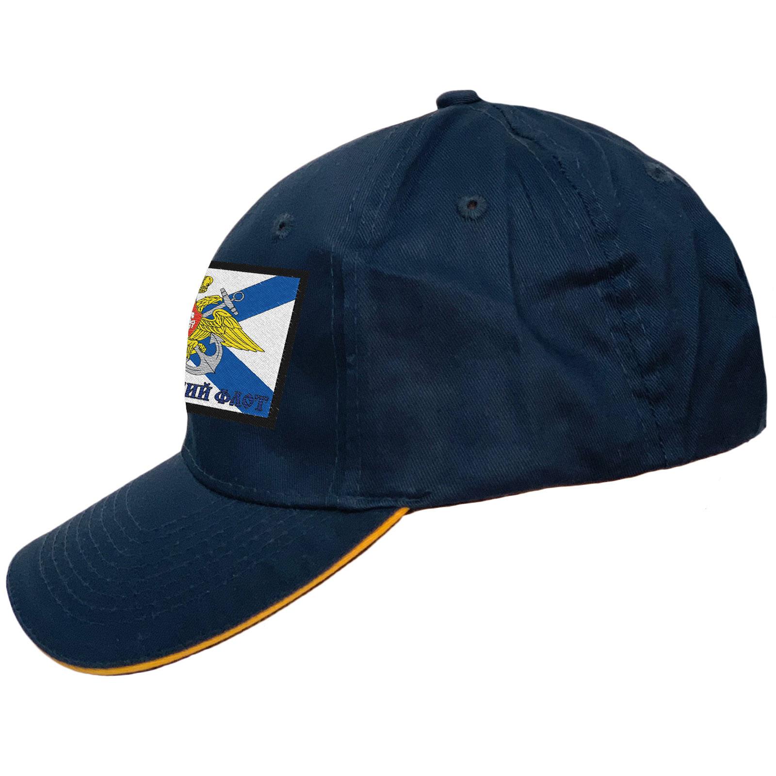 Мужская синяя кепка ВМФ, ЧФ