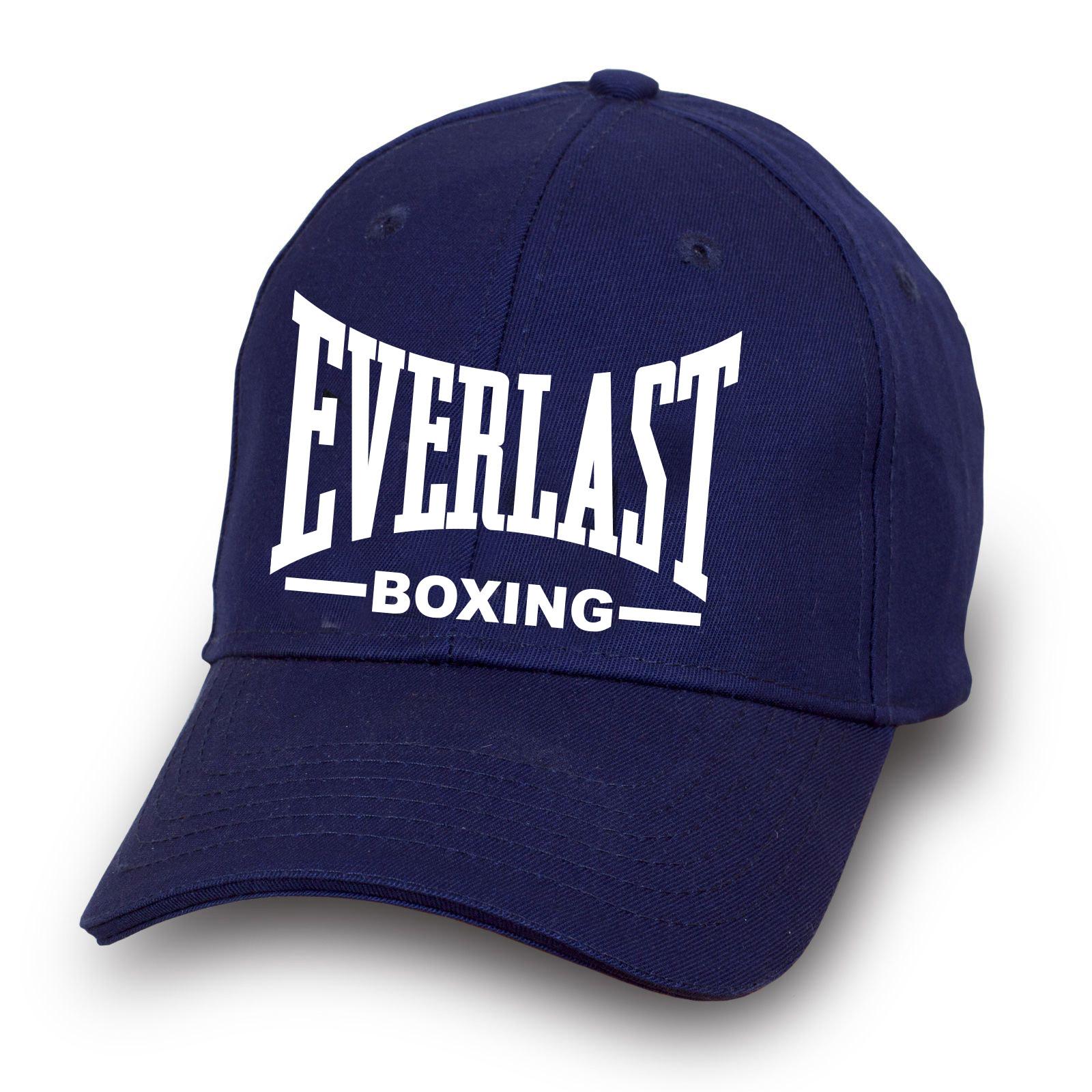 Синяя бейсболка Эверласт - купить по лучшей цене