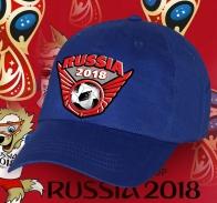 Синяя бейсболка Russia 2018 к Мундиалю.