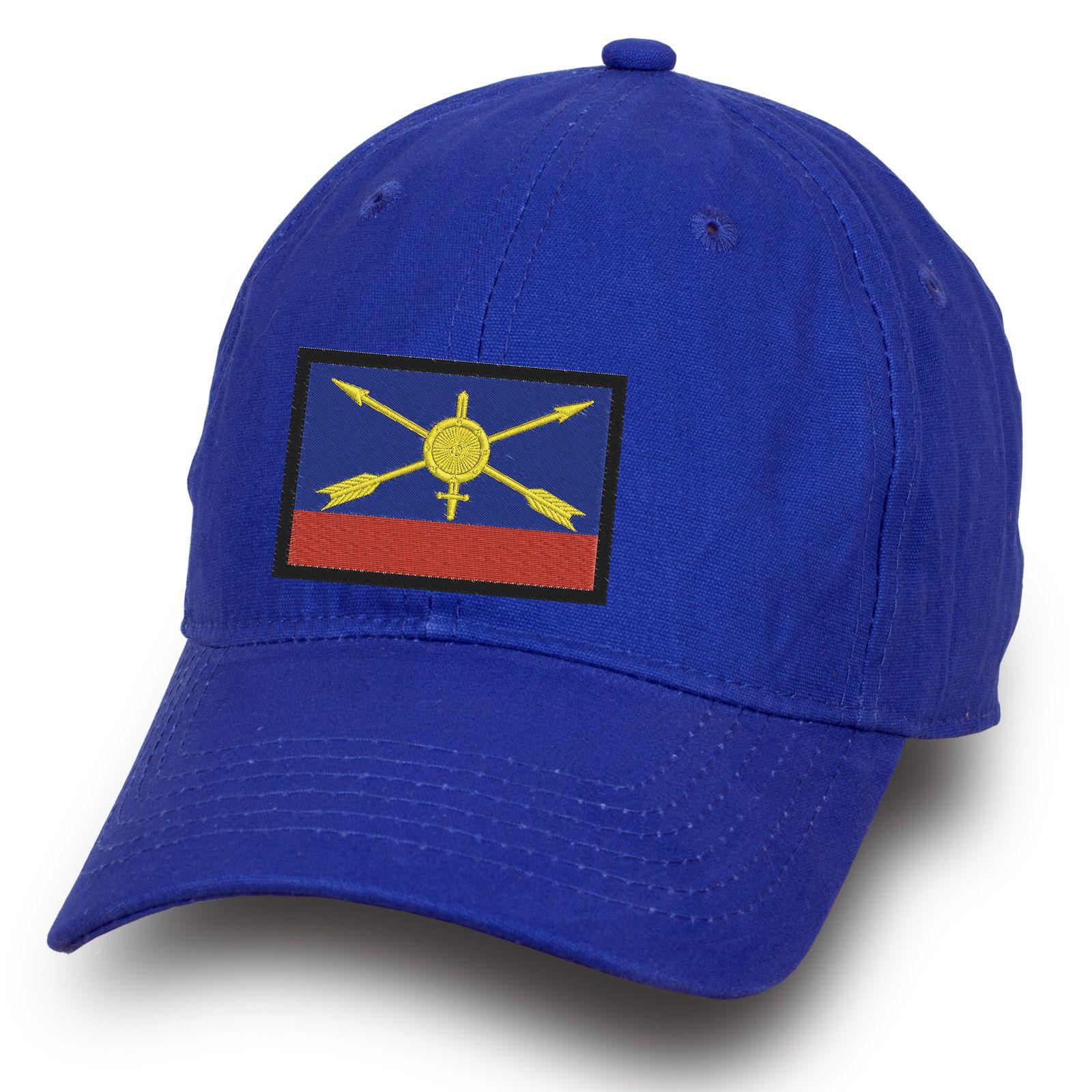 Синяя бейсболка РВСН - купить в интернет-магазине