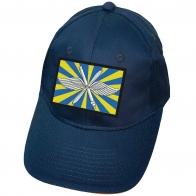 Синяя бейсболка с флагом ВВС России