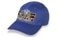 Синяя бейсболка с символикой Великой Победы