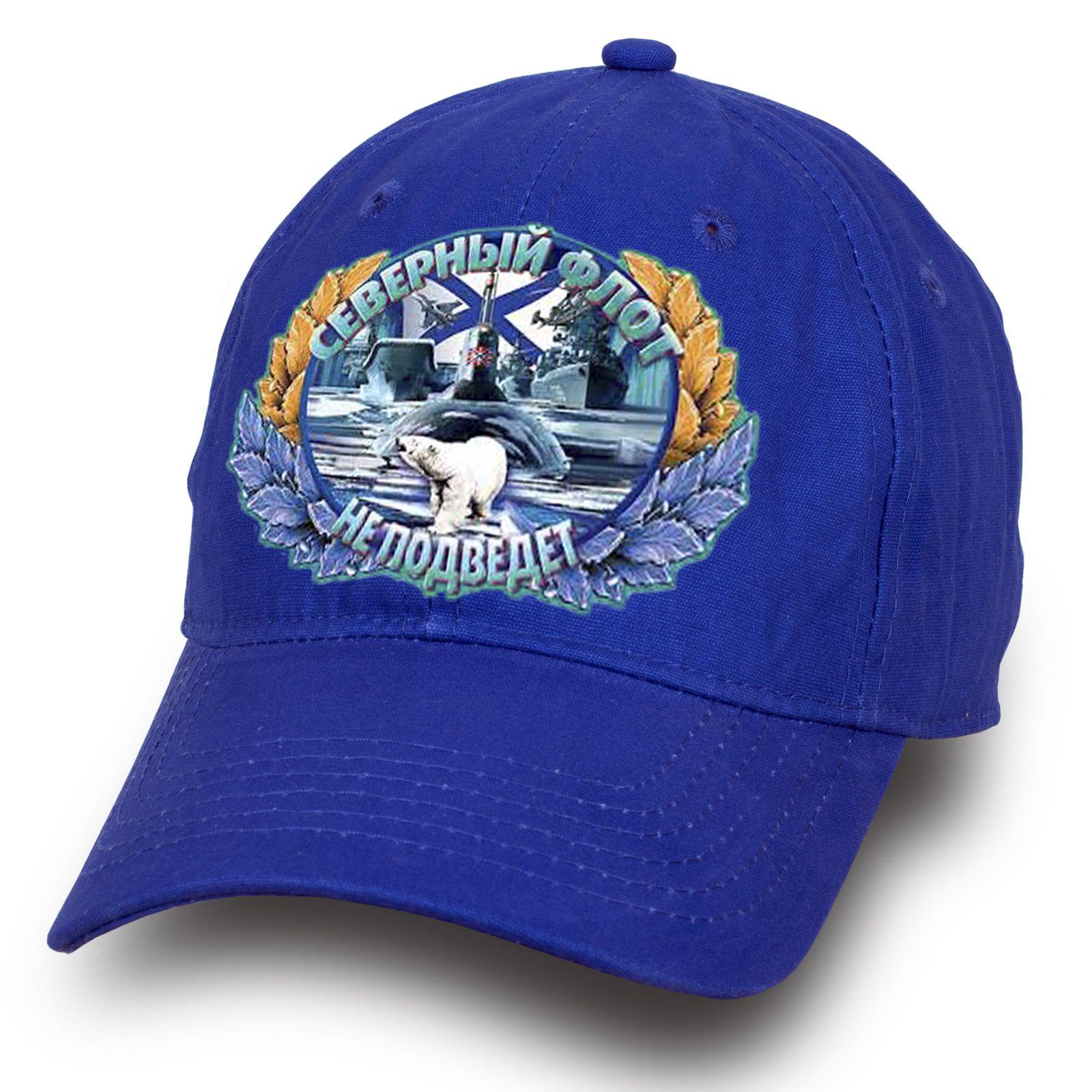 """Синяя бейсболка """"Северный флот"""" - купить по выгодной цене"""