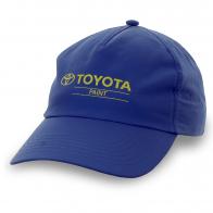 Синяя бейсболка Toyota. Любителям авто понравится!