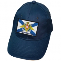 Синяя бейсболка ВМФ ТОФ