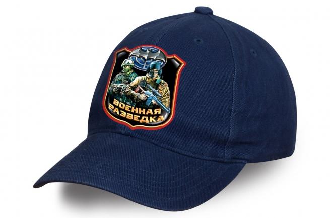 Синяя бейсболка военного разведчика из качественного хлопка. Отменный головной убор, который 100% понравится!