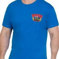 Купить синюю футболку Морпех