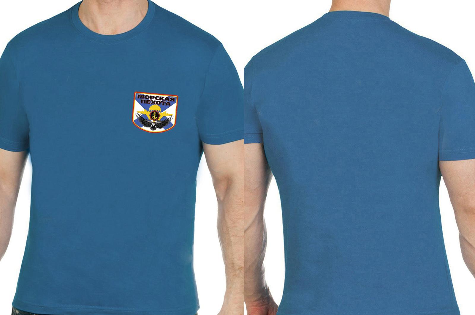 Синяя футболка Морской пехоты