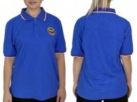 Синяя футболка-поло МЧС