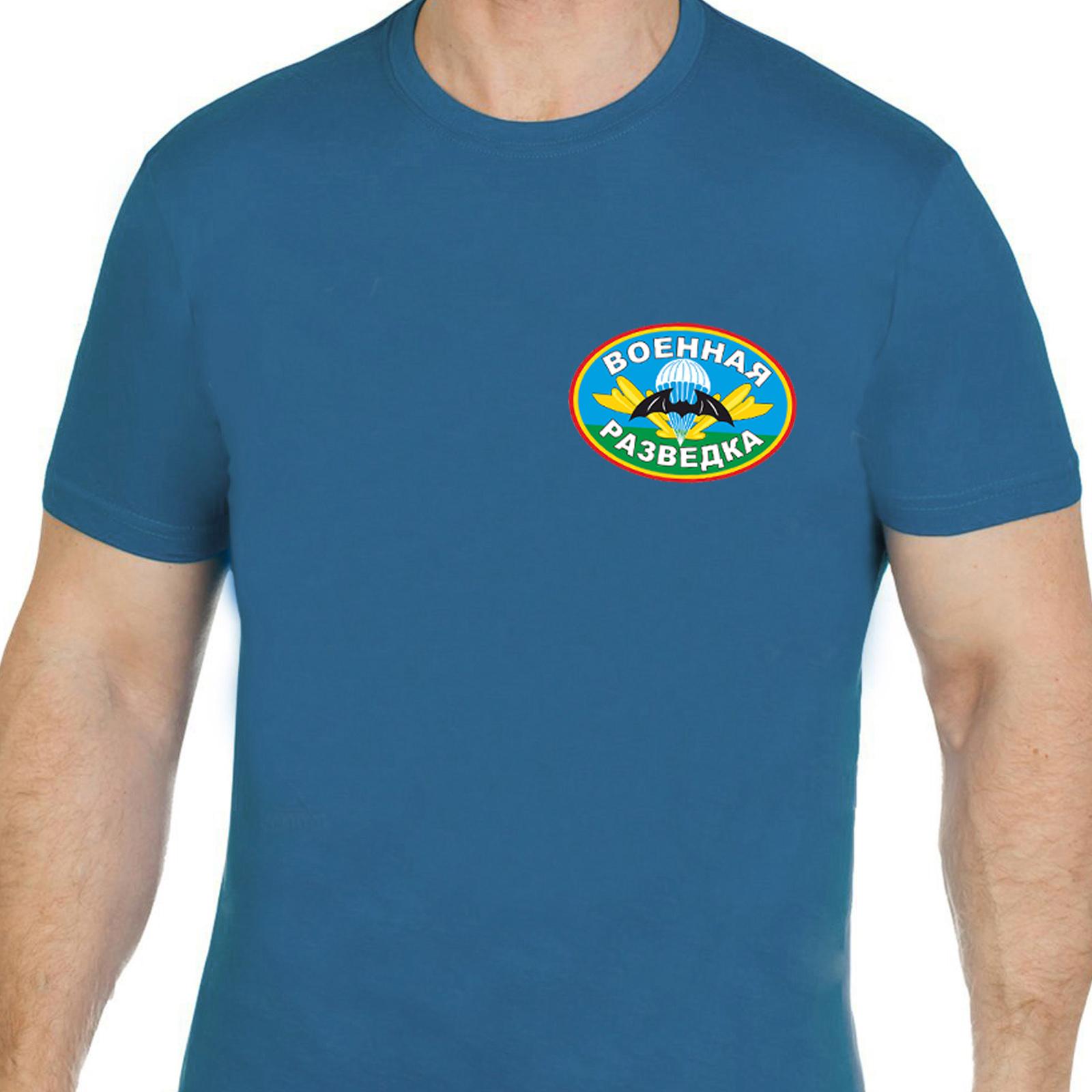 """Синяя футболка """"Военная разведка"""""""