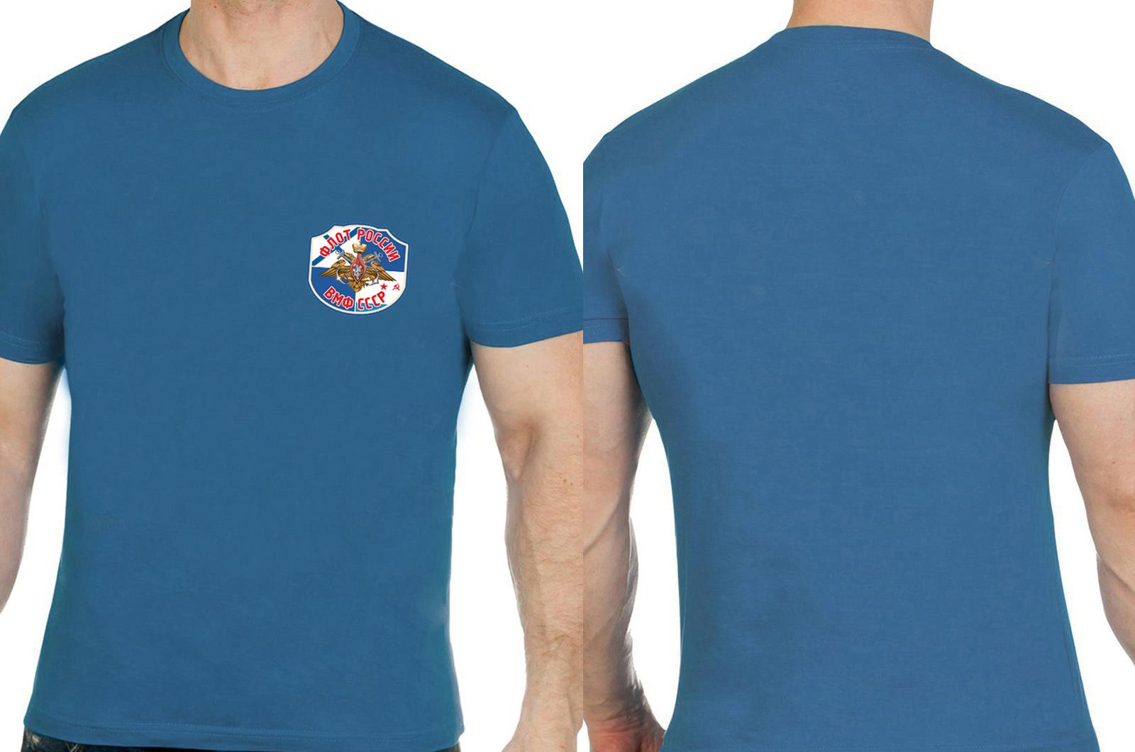 Синяя футболка Военно-Морской флот