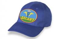 Синяя кепка десанта