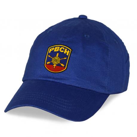 Синяя кепка РВСН с вышивкой.