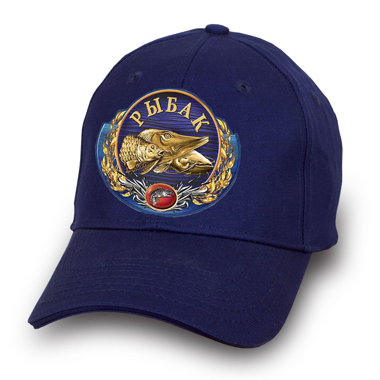 Синяя кепка рыбака - купить в интернет-магазине