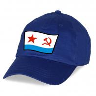 Купить синюю кепку с эмблемой ВМФ СССР