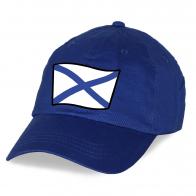 Синяя кепка с флагом ВМФ - купить оптом и в розницу