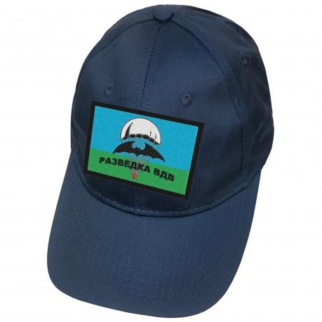 Синяя кепка с нашивкой Разведка ВДВ