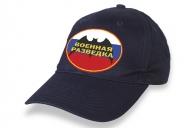Синяя кепка с термотрансфером военной разведки