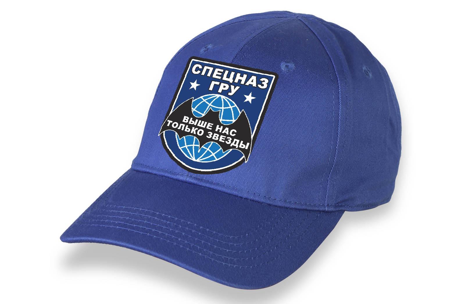 Синяя кепка Спецназ ГРУ