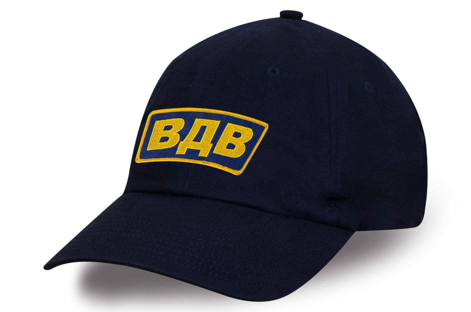 Темно-синяя кепка ВДВ.