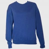 Мужская синяя кофта-джемпер