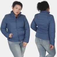 Синяя короткая женская куртка Urb.