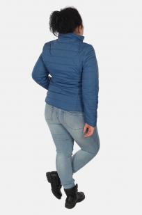 Синяя короткая женская куртка Urb с удобной доставкой