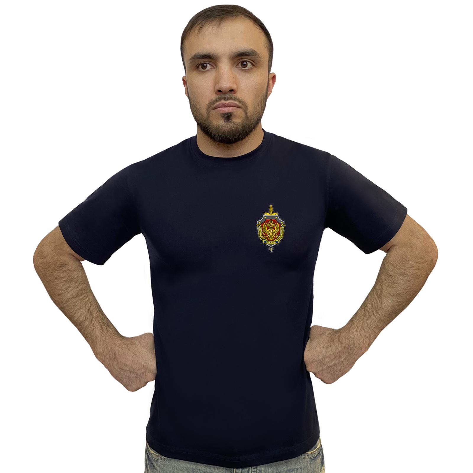 Заказать футболку с вышивкой Федеральной службы безопасности