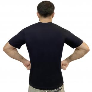 Синяя мужская футболка ФСБ