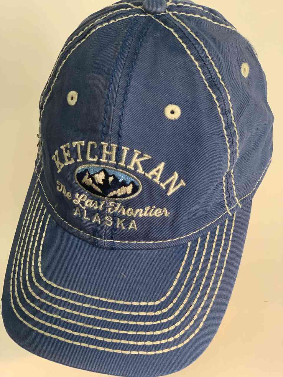 Синяя мужская кепка KETCHIKAN Alaska