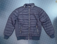 Синяя мужская куртка от HOLSTARK