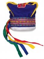 Синяя шапка фаната World Cup Levi. Заказывайте, поклонникам горнолыжного спорта понравится!