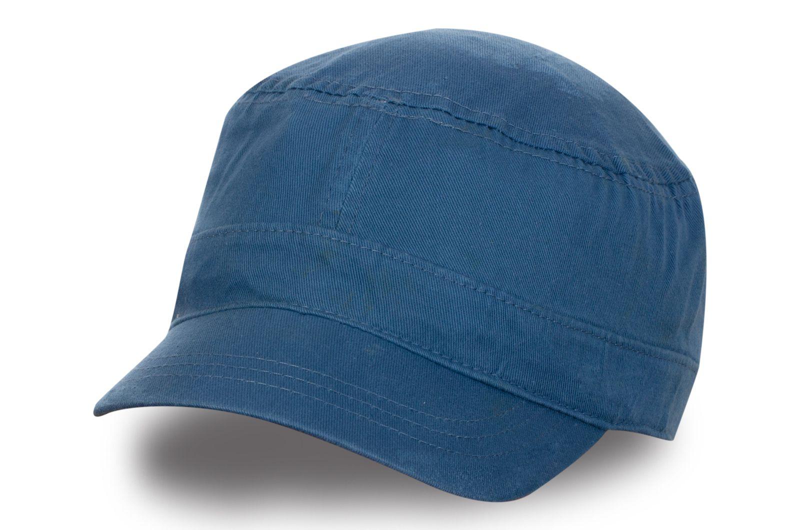Синяя женская кепка - купить в интернет-магазине