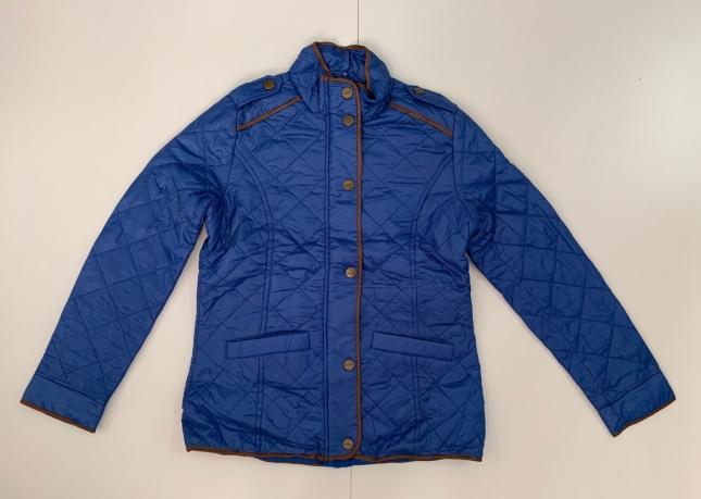 Синяя женская куртка от бренда Allen Solly