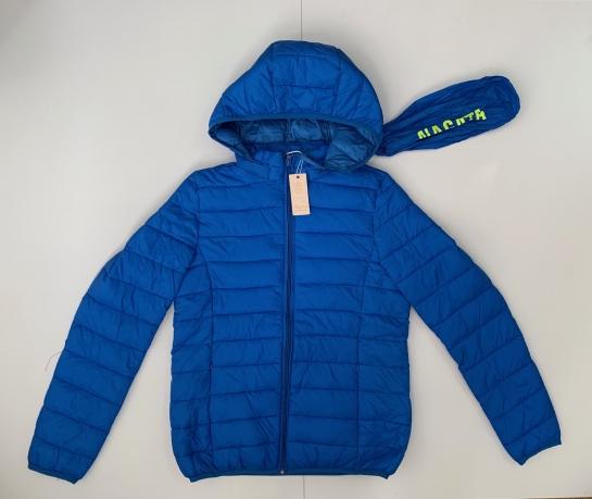 Синяя женская куртка от NAGATA